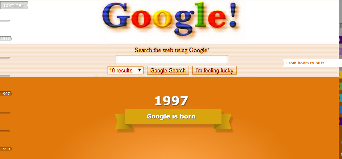 [GoogleStory]Story of the web  web25